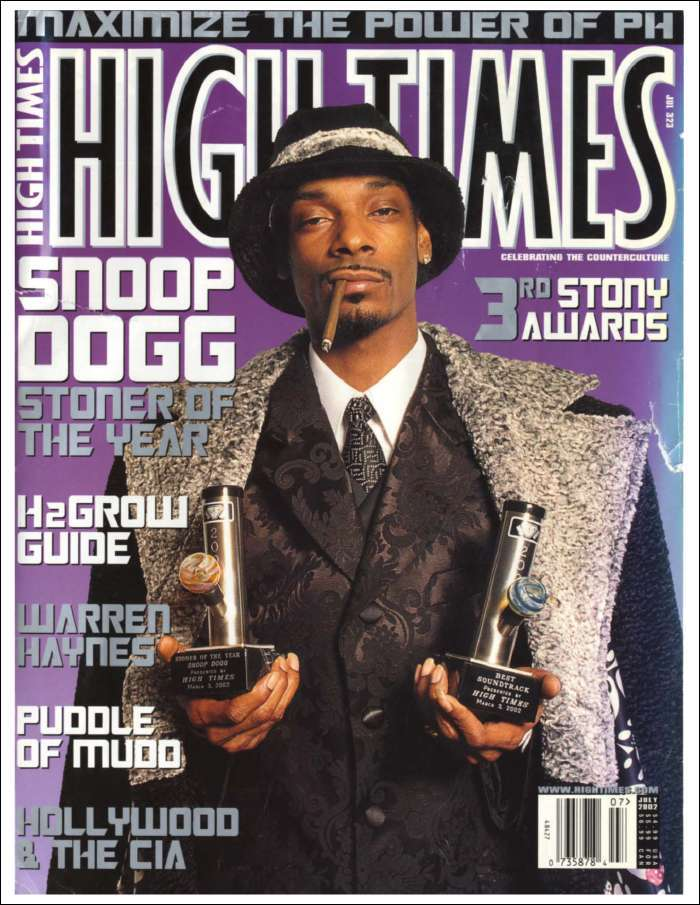 High Times- Stoner of the Year: Snoop Dogg (Digital)