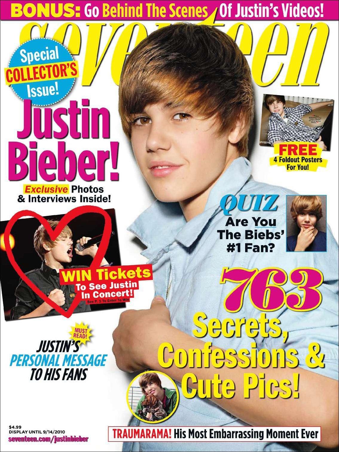 Seventeen Justin Beiber Special Issue Digital