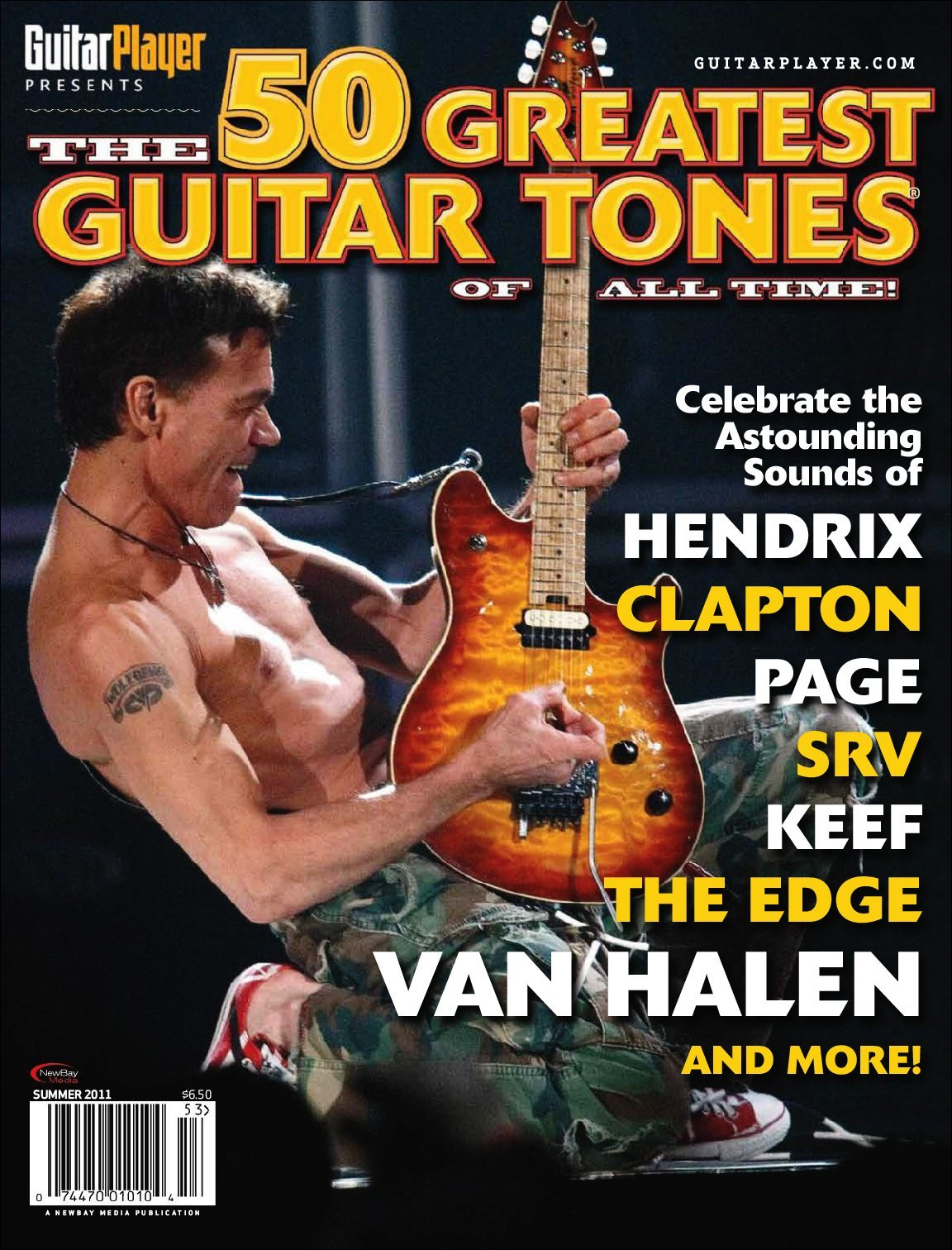 GUITAR PLAYER PRESENTS The 50 Greatest Guitar Tones of All Time Digital