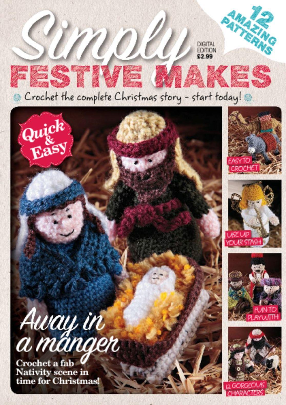 Crochet Nativity Digital