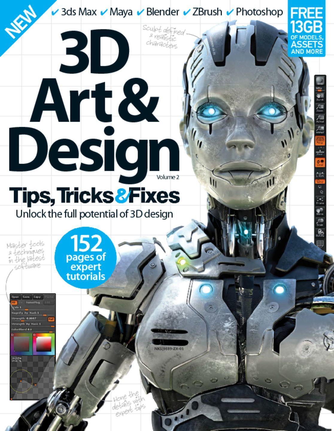 3D Art & Design Tips, Tricks & Fixes (Digital)