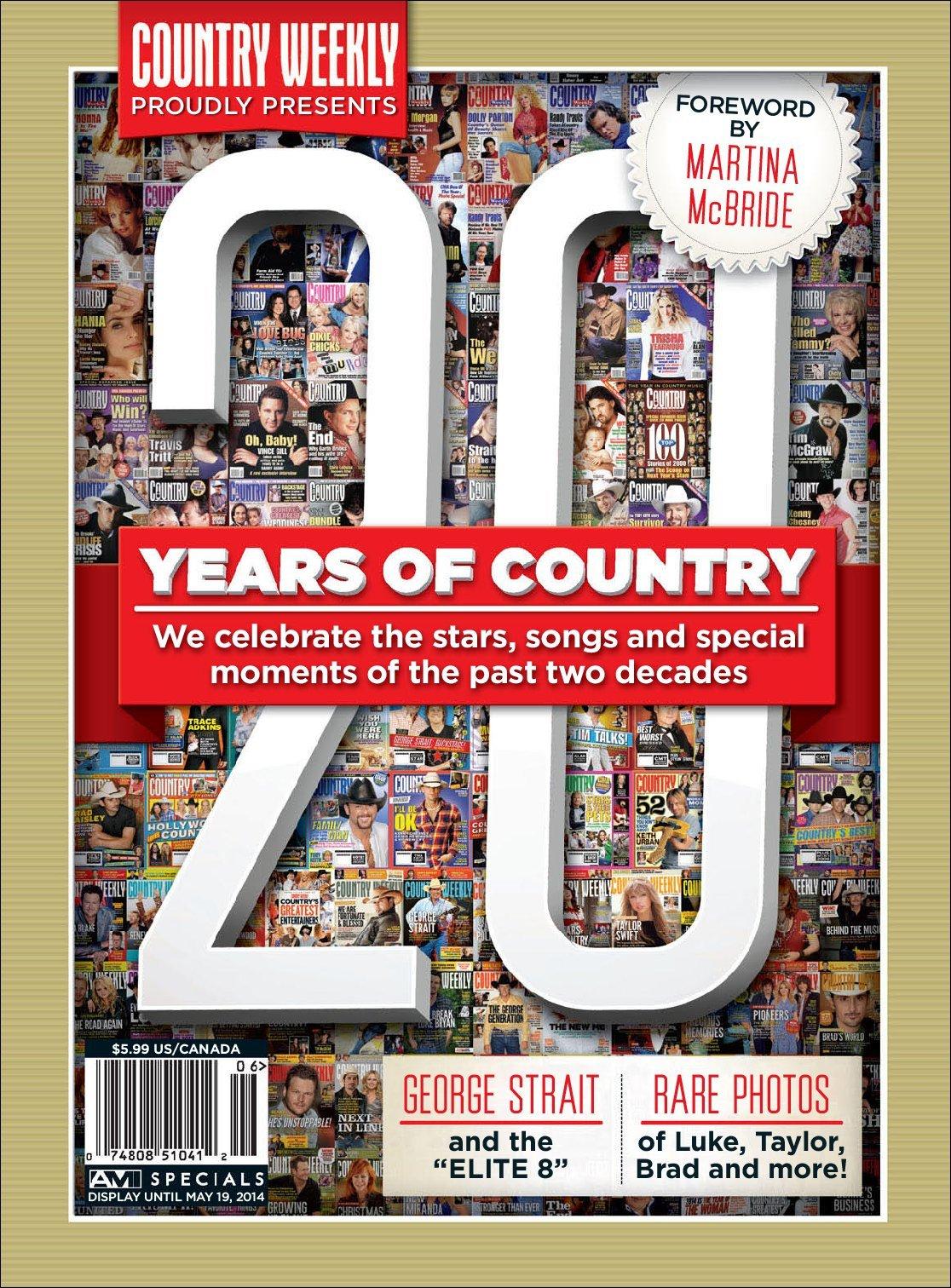 Country weekly 20th anniversary magazine digital for Anniversary magazine