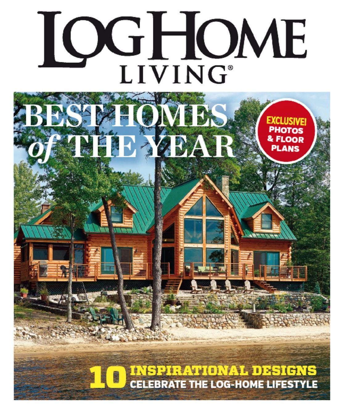 Log home living best of 2014 magazine digital for Home living magazines