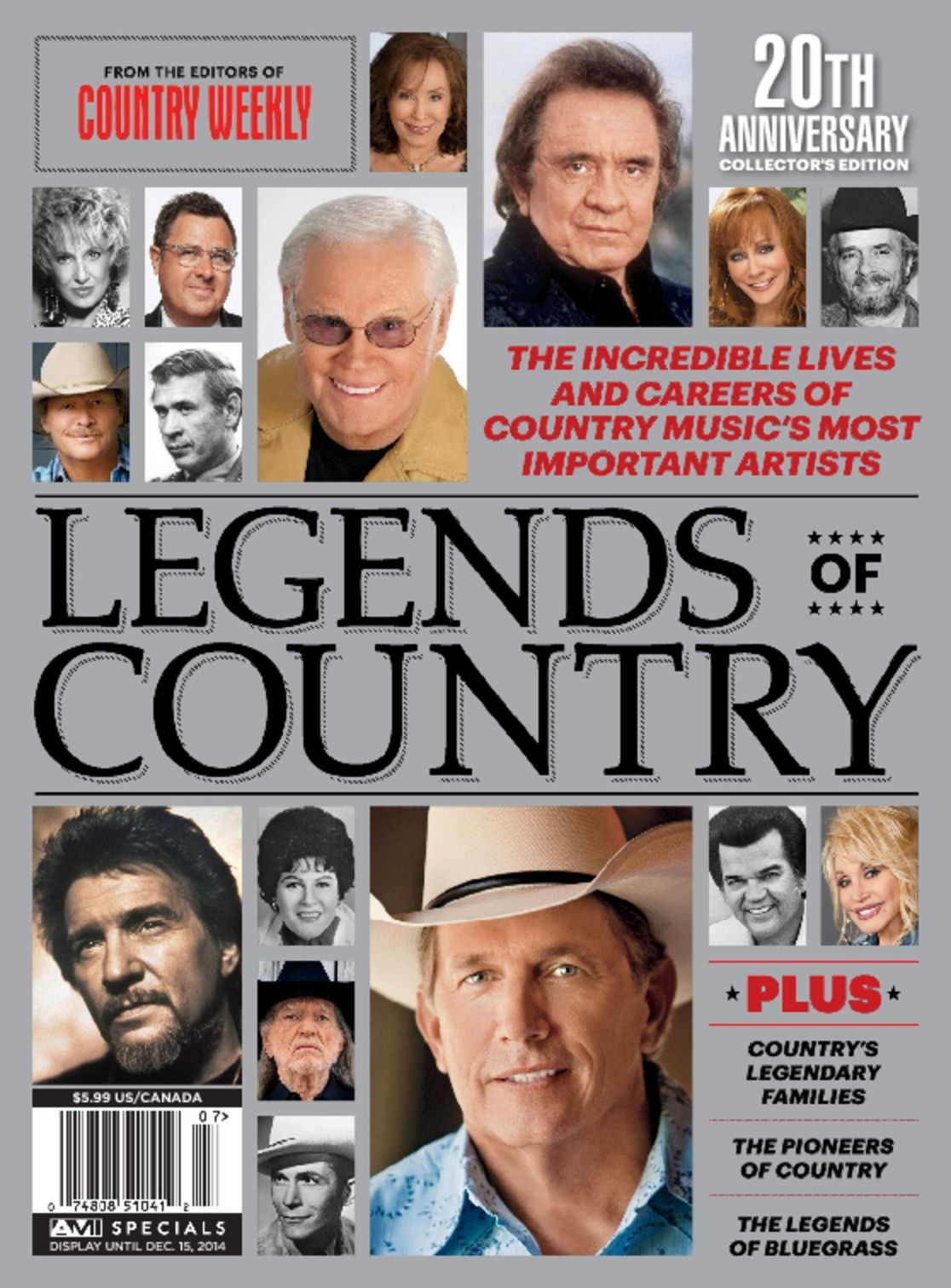 Legends of Country Music (Digital)