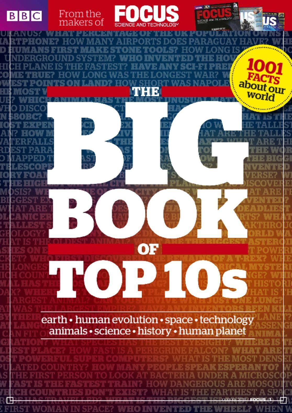 BBC Focus presents The Big Book of Top 10s Digital