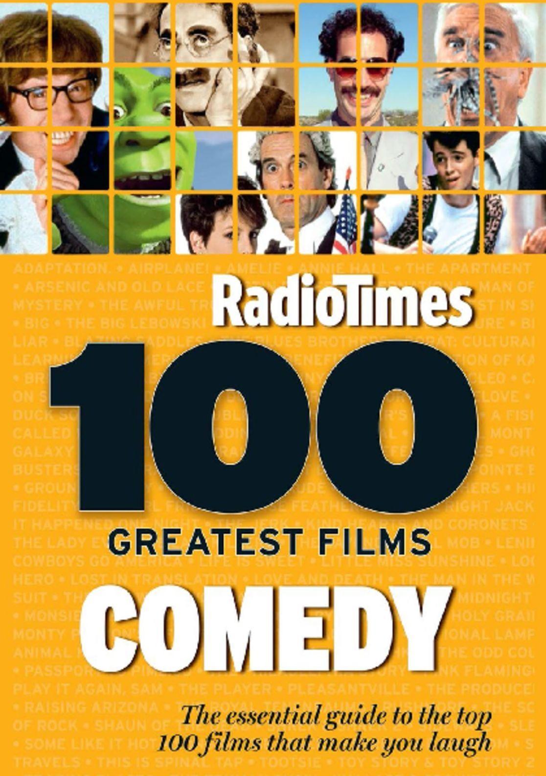100 Greatest Comedy Movies by Radio Times Digital