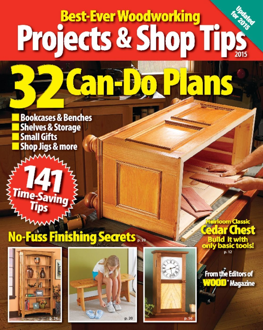 Best Ever Projects Shop Tips 2015 Magazine Digital