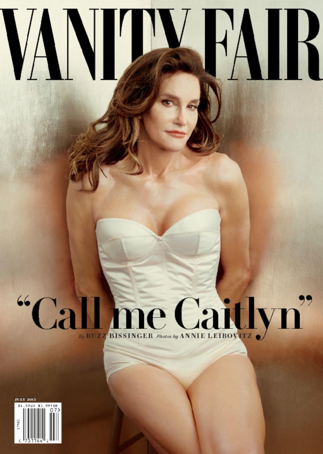 Vanity Fair Caitlyn Jenner Digital