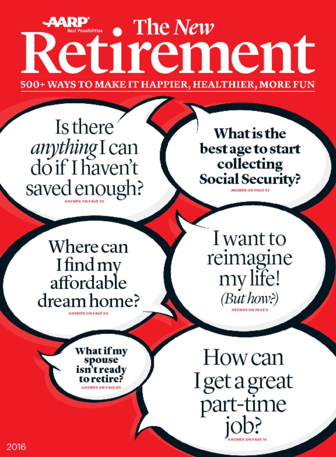AARP New Guide to Retirement Digital