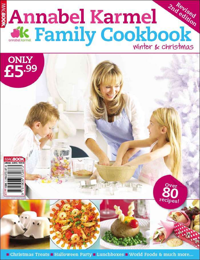 Annabel Karmel Family Cookbook Winter and Christmas 2009 Digital