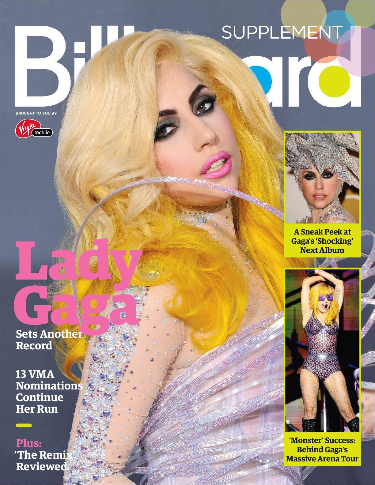Lady Gaga Billboard Digital Edition Supplement Digital