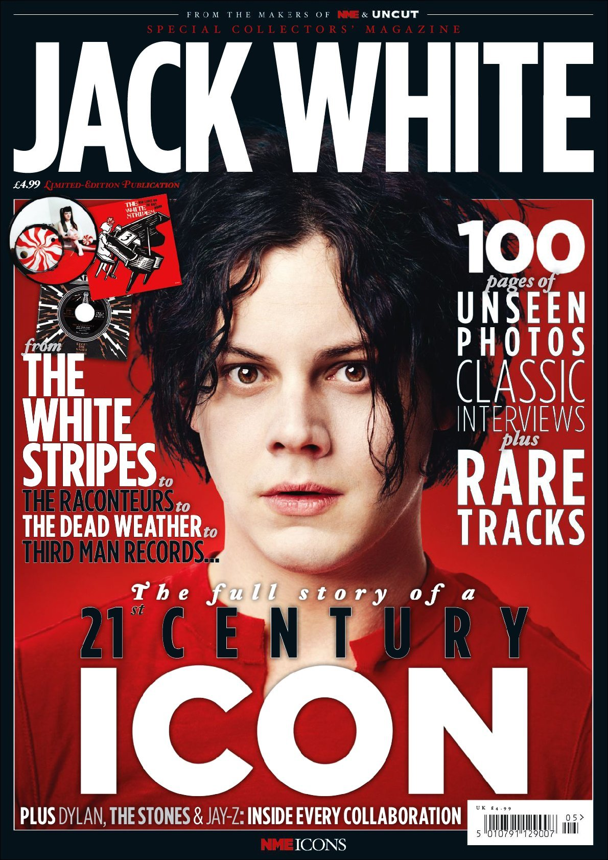 NME Icons Jack White Digital