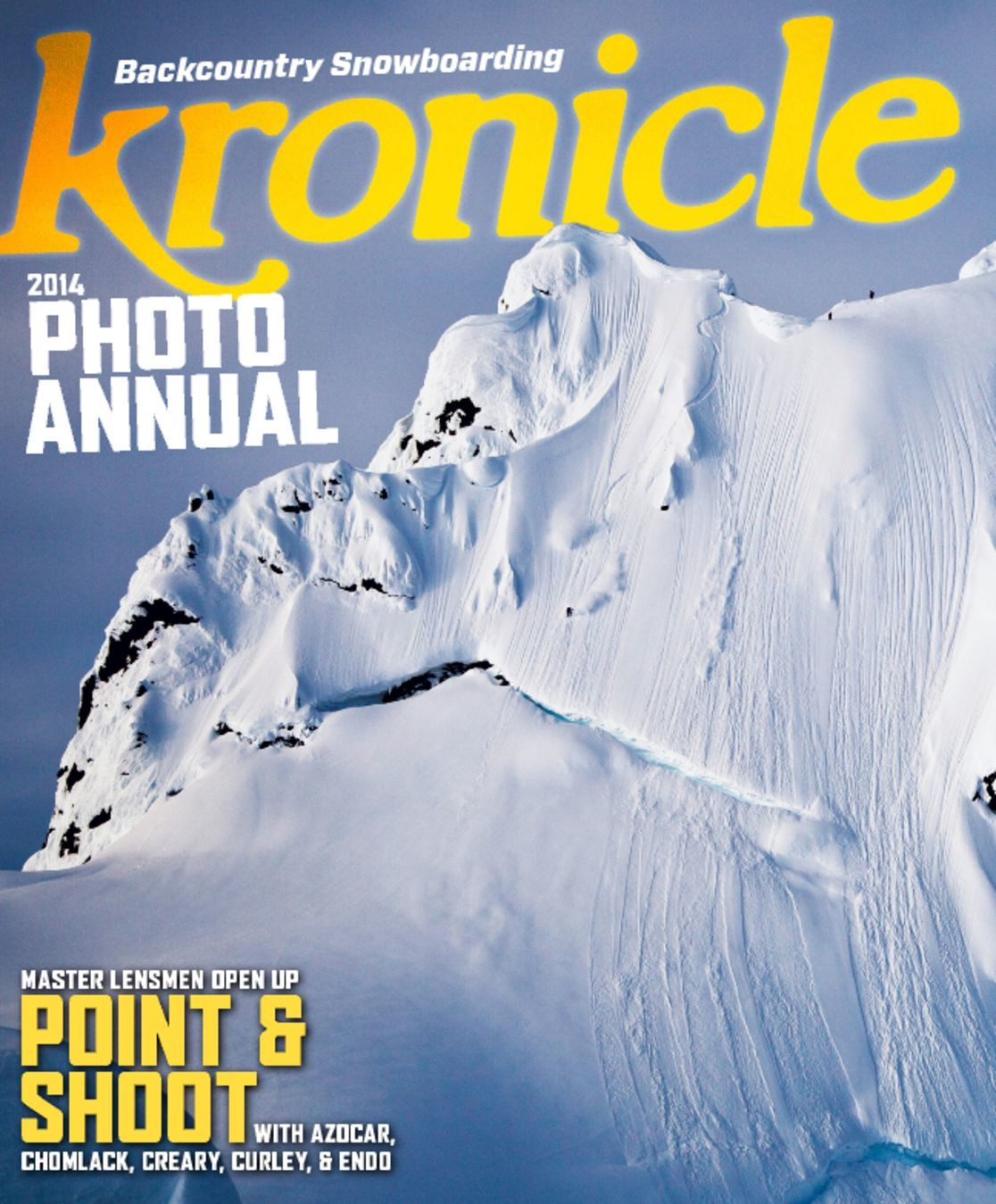 Kronicle Backcountry Snowboarding Digital