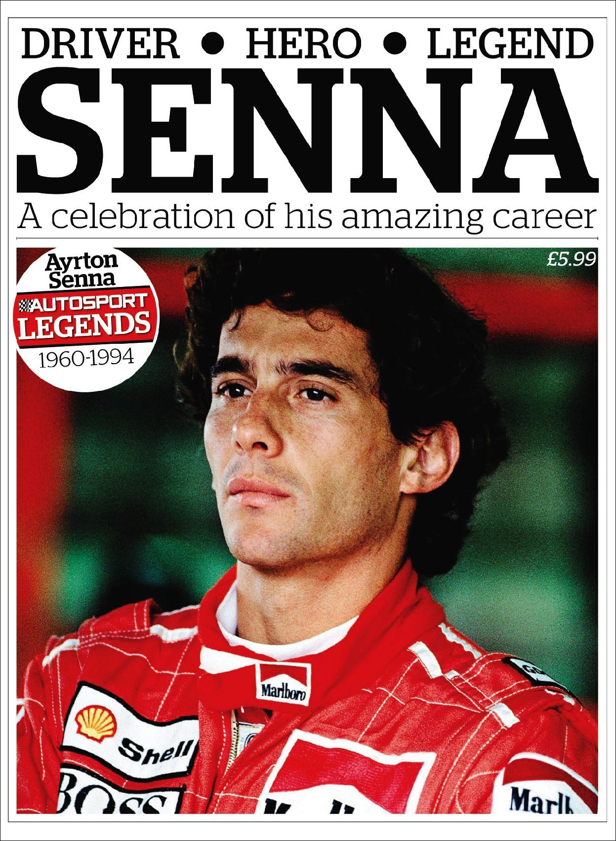 Autosport LegendsAyrton Senna Digital