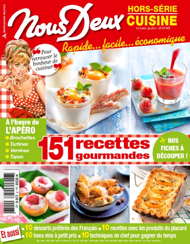 Nous deux hors s rie cuisine magazine digital for Hors serie cuisine