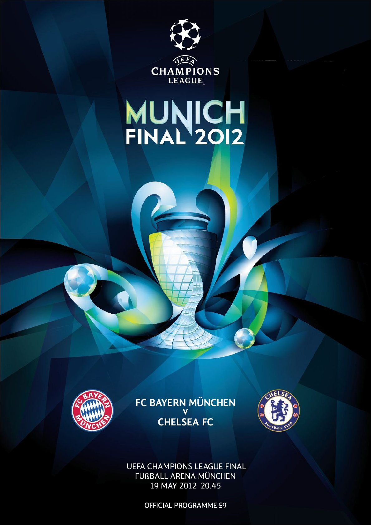 UEFA Champions League Final 2012 (Digital)