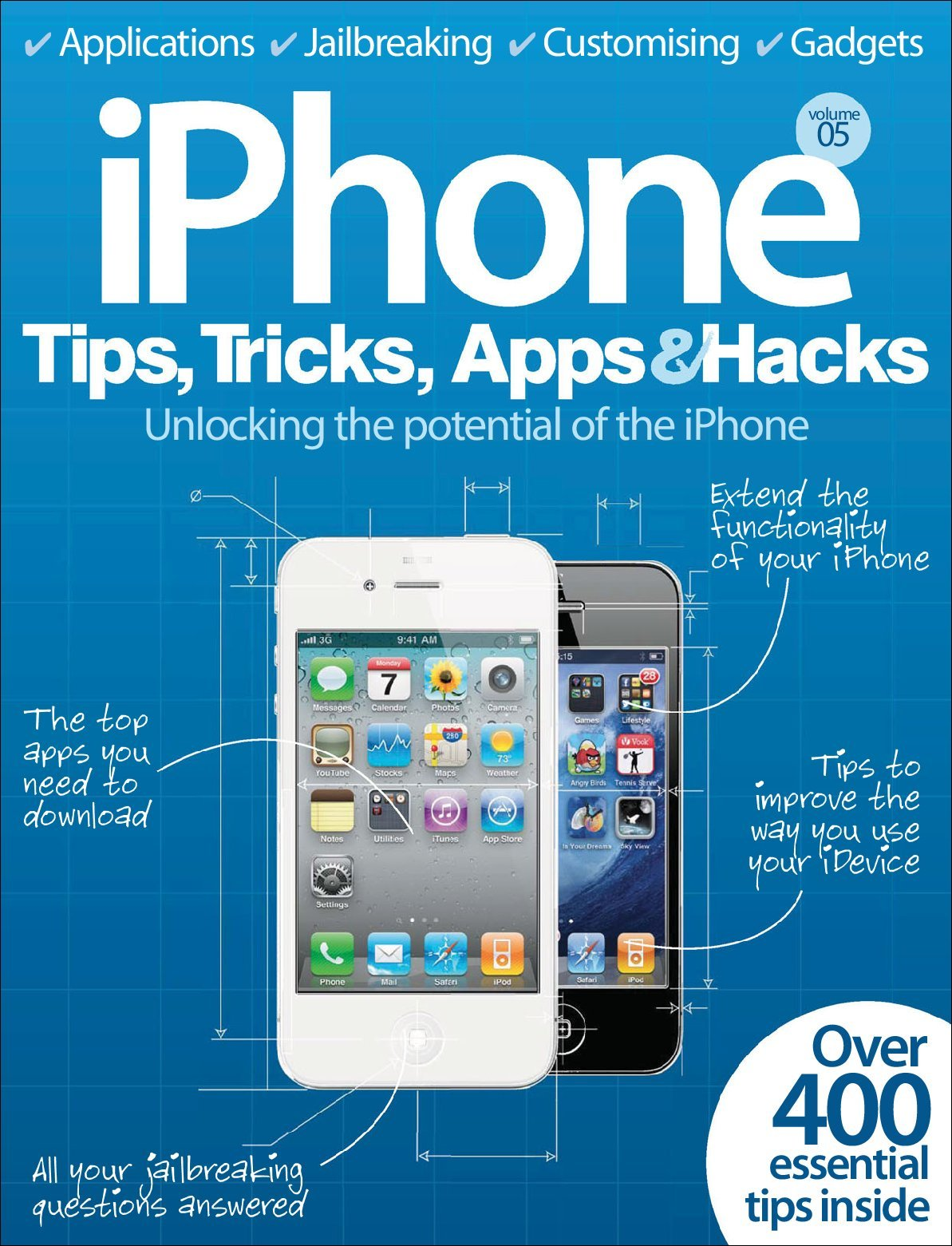 iPhone Tips, Tricks, Apps & Hacks Vol 5 (Digital)
