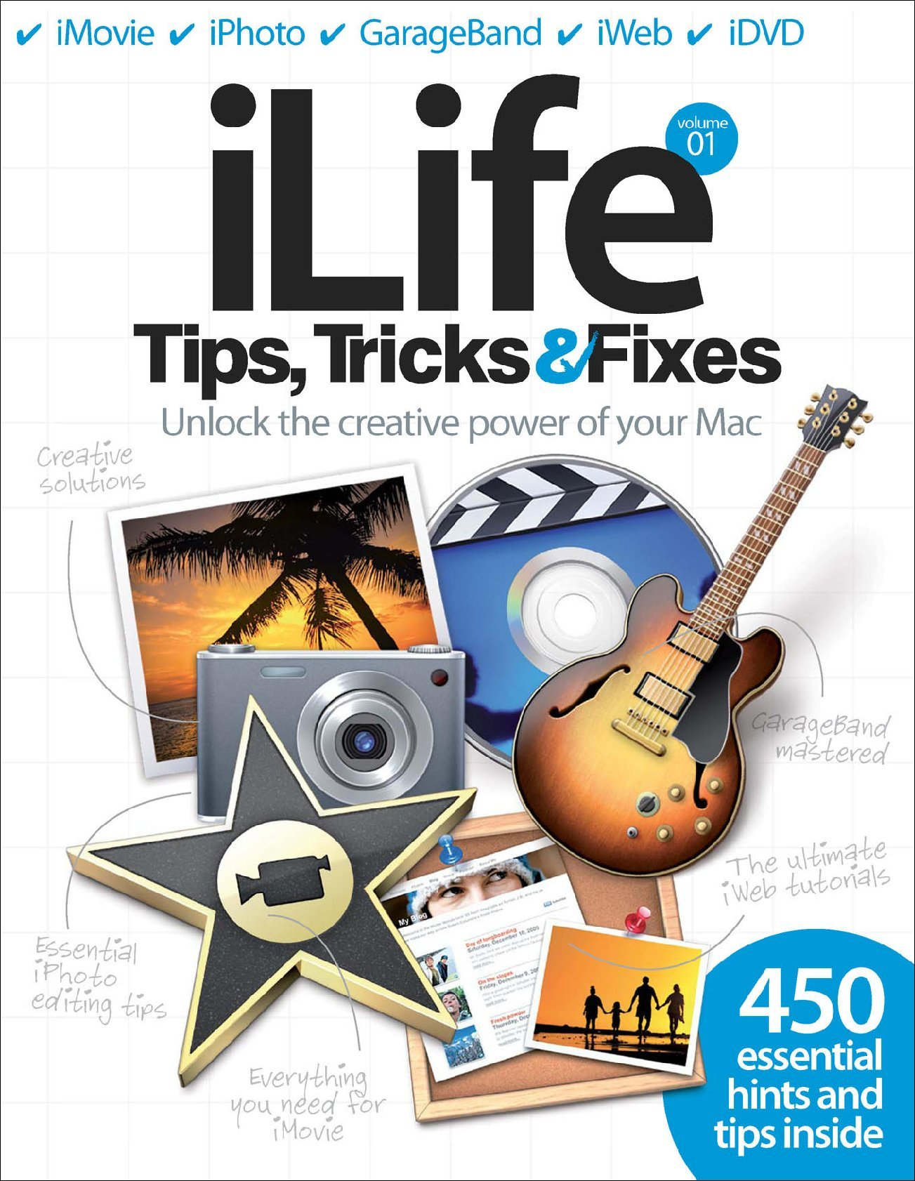 Ilife tips tricks amp fixes vol 1 digital magazine discountmags com
