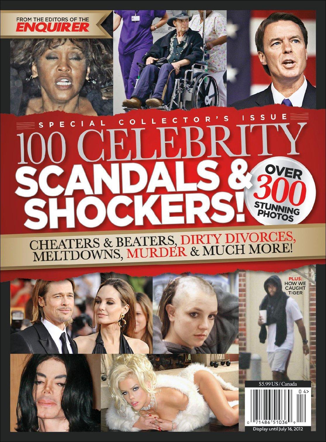 100 Celebrity Scandals Shockers Digital
