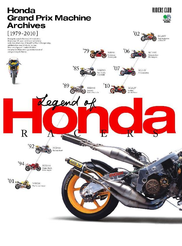 HONDA GRAND PRIX MACHINE ARCHIVES 1979 2010 Digital