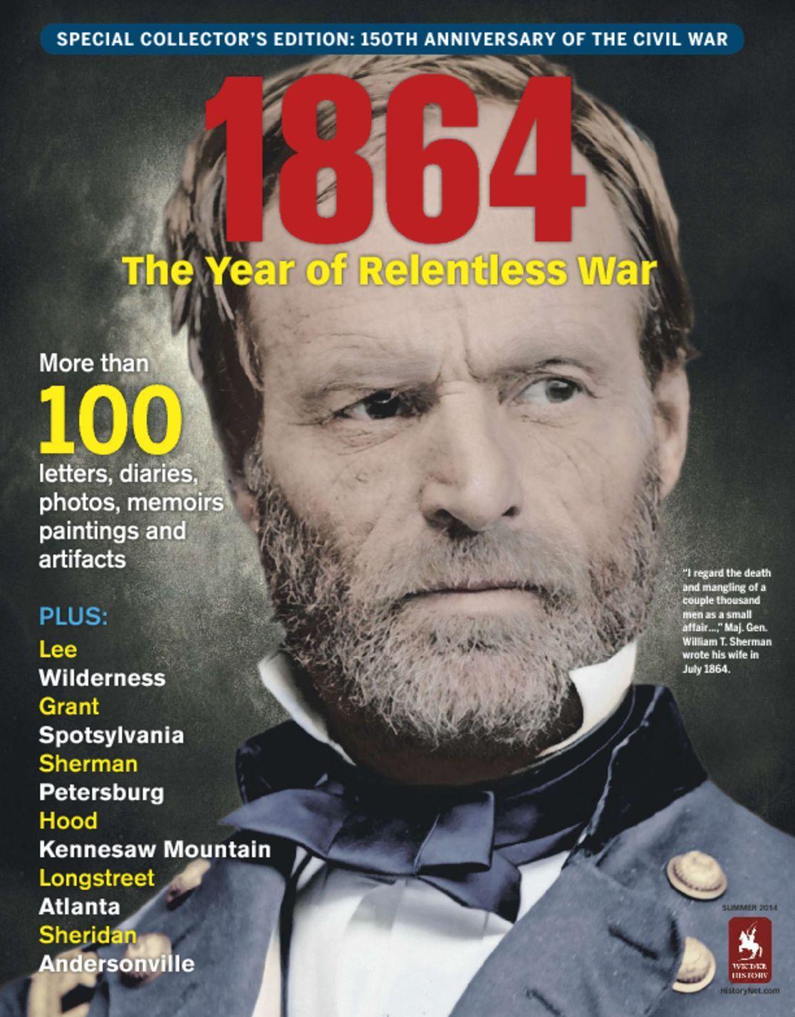 1864 Year of Relentless War Digital