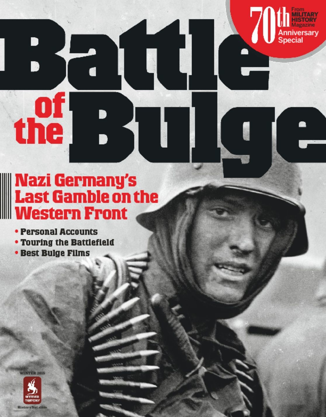 Battle of the bulge 70th anniversary magazine digital for Anniversary magazine