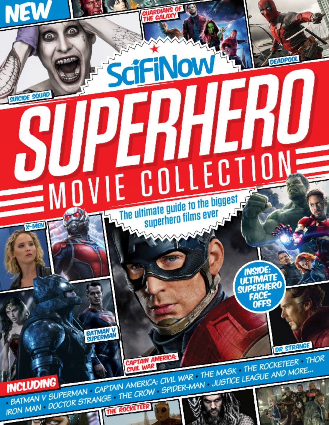 Magazines Collection Fashion Nails 4 Et 5: SciFiNow Superhero Movie Collection Magazine (Digital