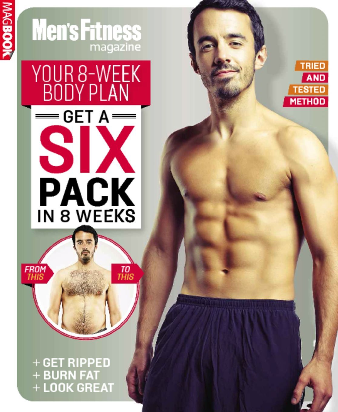 Men's Fitness Get a Six Pack in 8 Weeks (Digital)