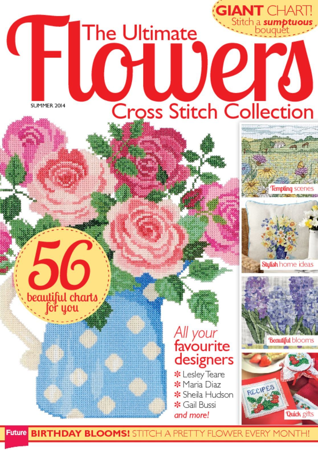 The Ultimate Flowers Cross Stitch Collection Digital