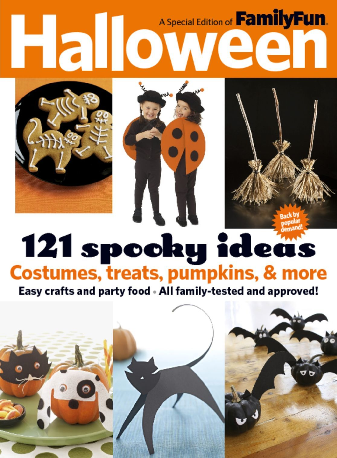 familyfun halloween magazine digital discountmagscom - Family Fun Magazine Halloween Crafts