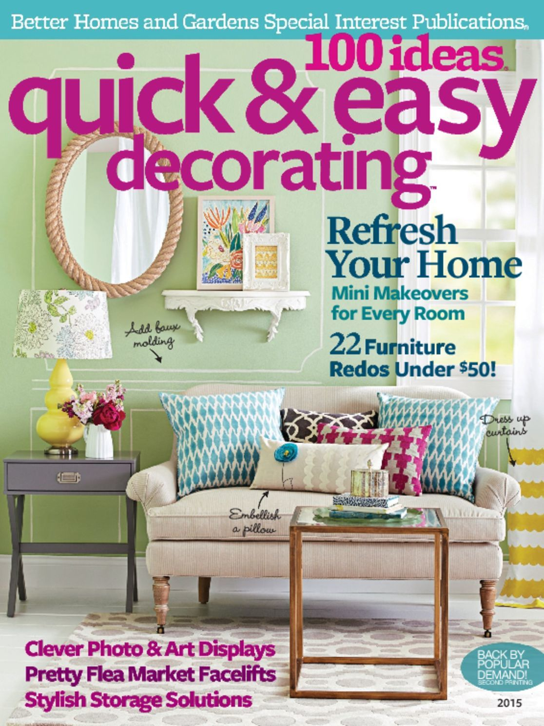 100 Ideas Quick Easy Decorating Digital