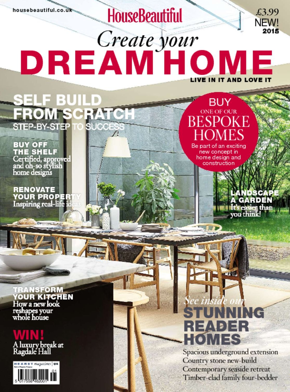 Create your dream home magazine digital for Build your dream home