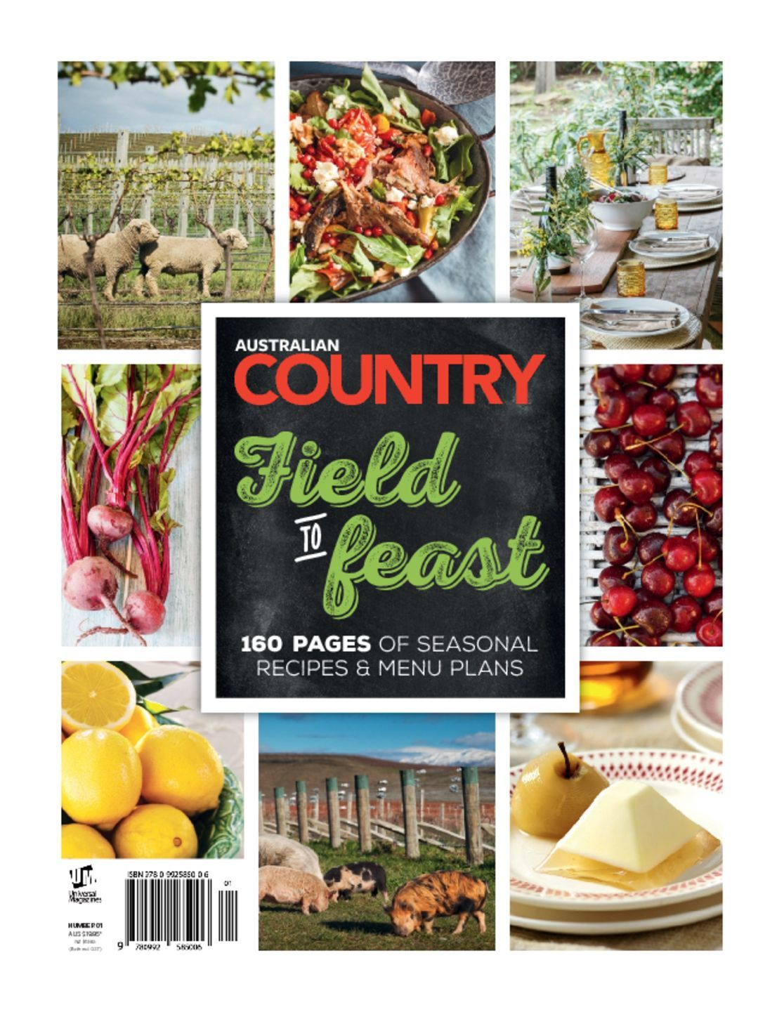 Australian Country Cookbook Digital