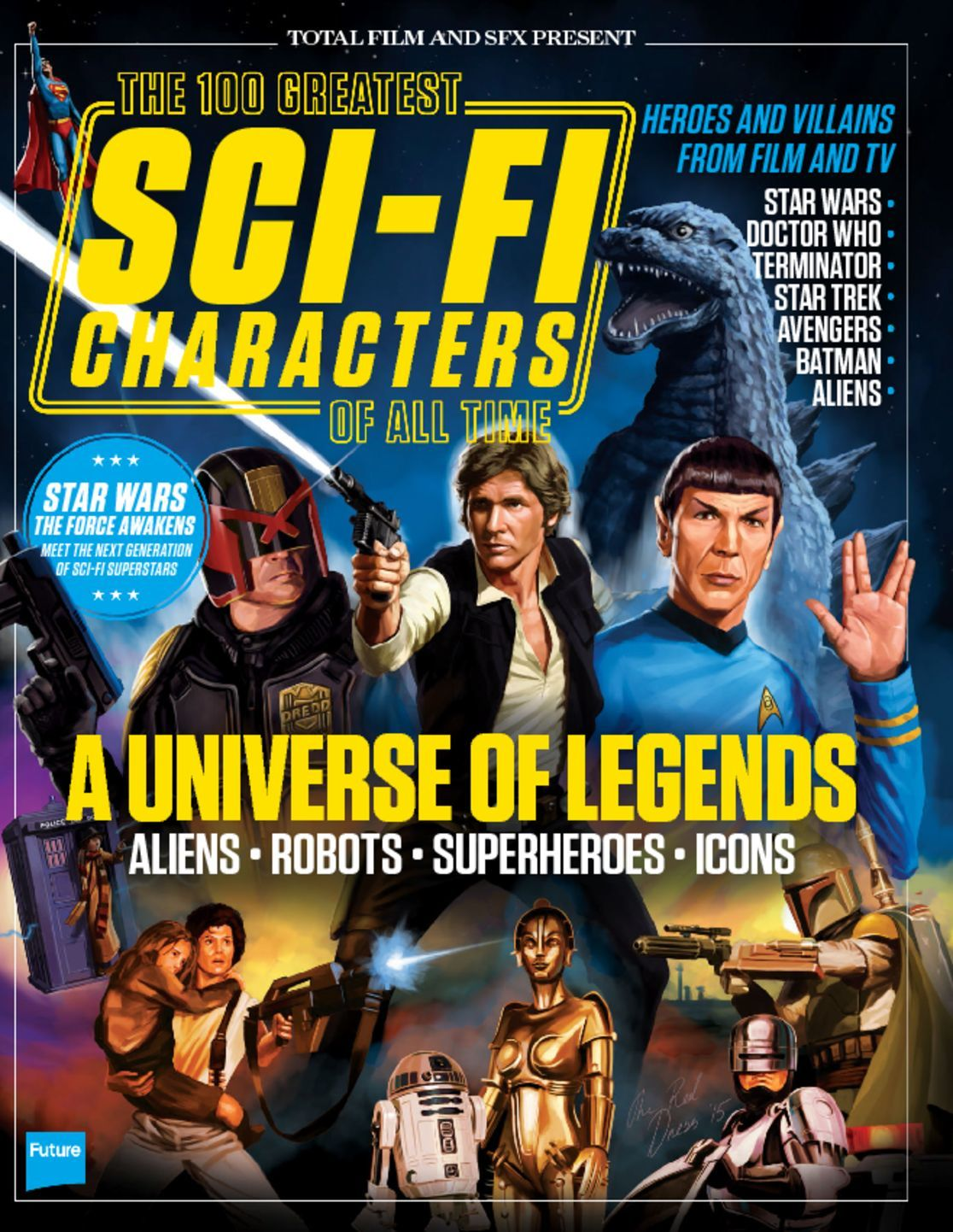 100 Greatest Sci Fi Characters Digital