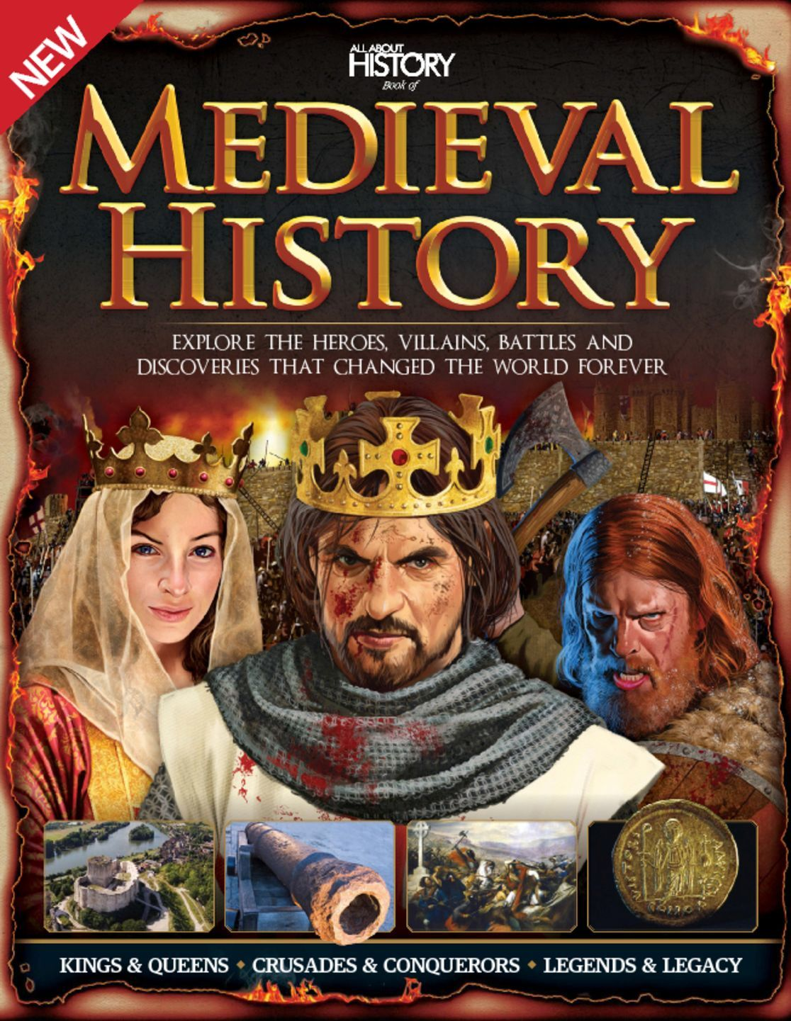 All About History Book Of Medieval History Digital