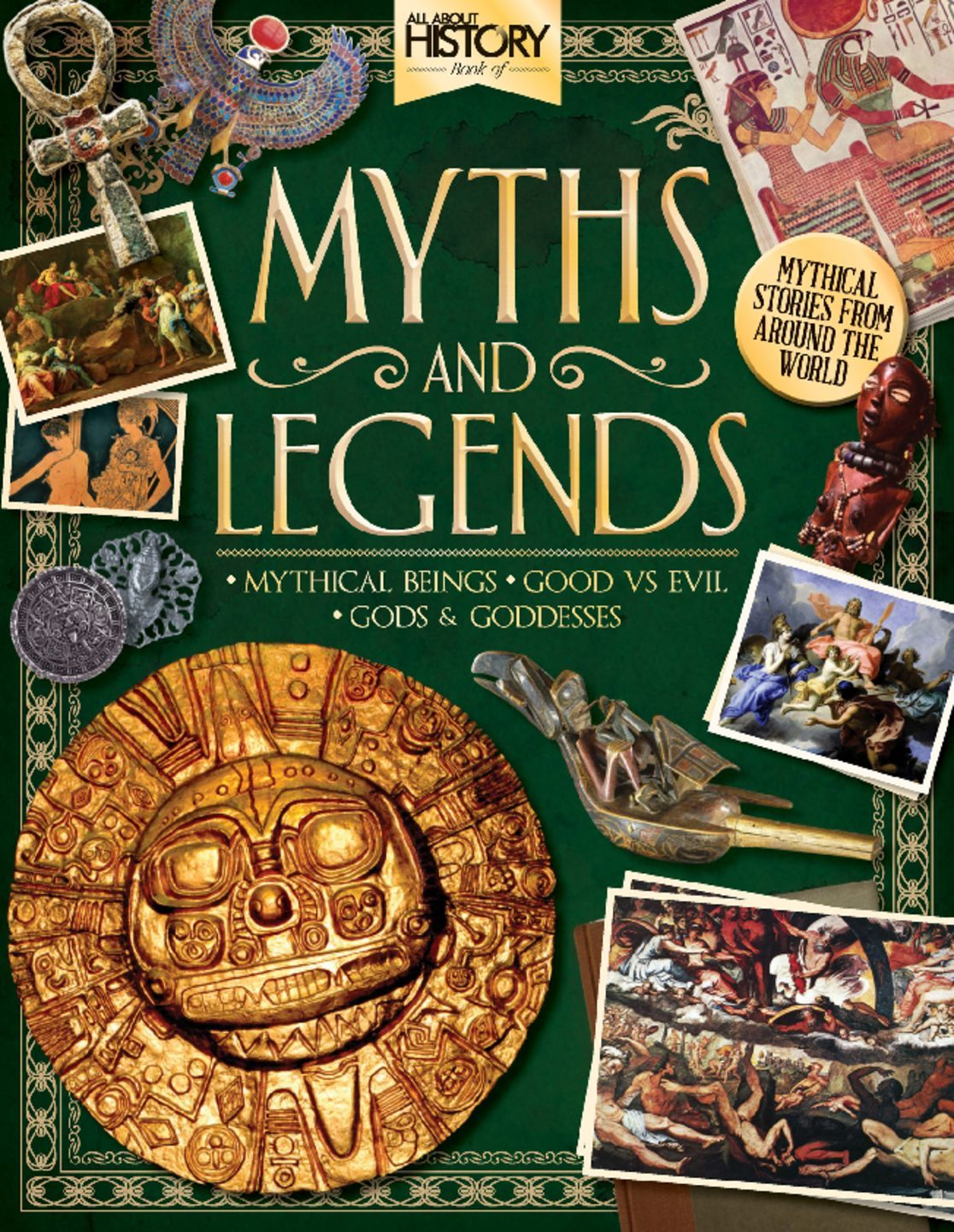 All About History Book Of Myths Legends Digital