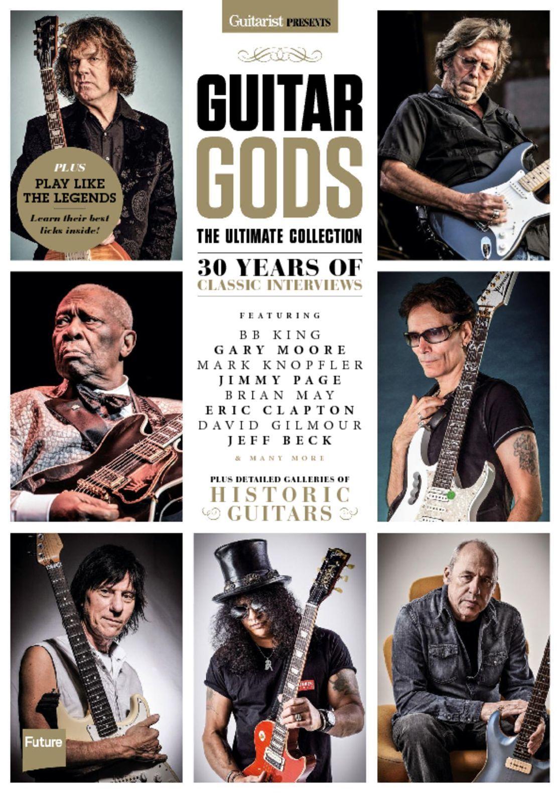 Guitarist Presents Guitar Gods Digital