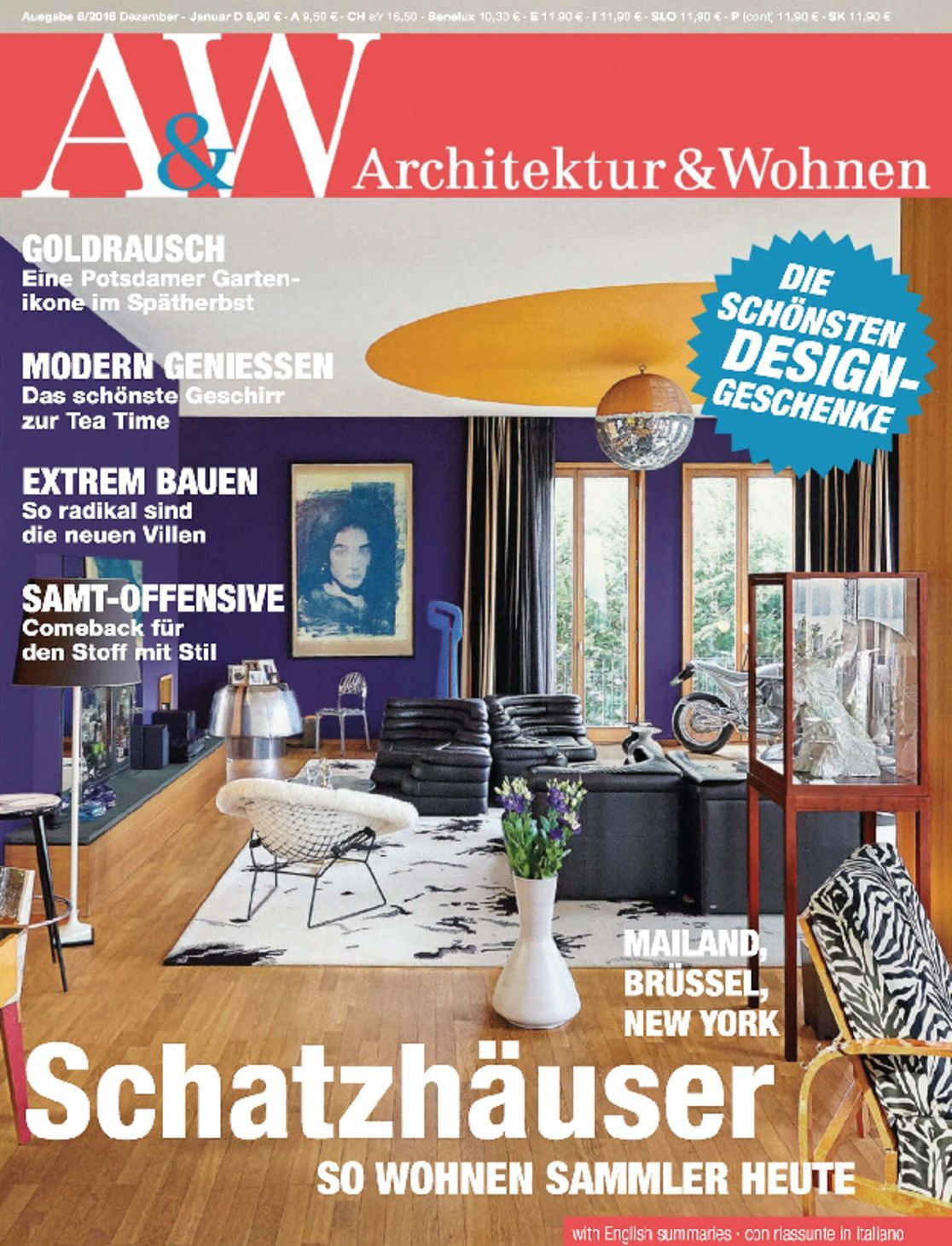 a w architektur wohnen digital magazine. Black Bedroom Furniture Sets. Home Design Ideas
