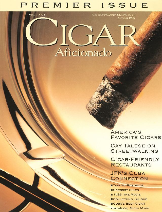 Cigar Aficionado Premier Issue Digital