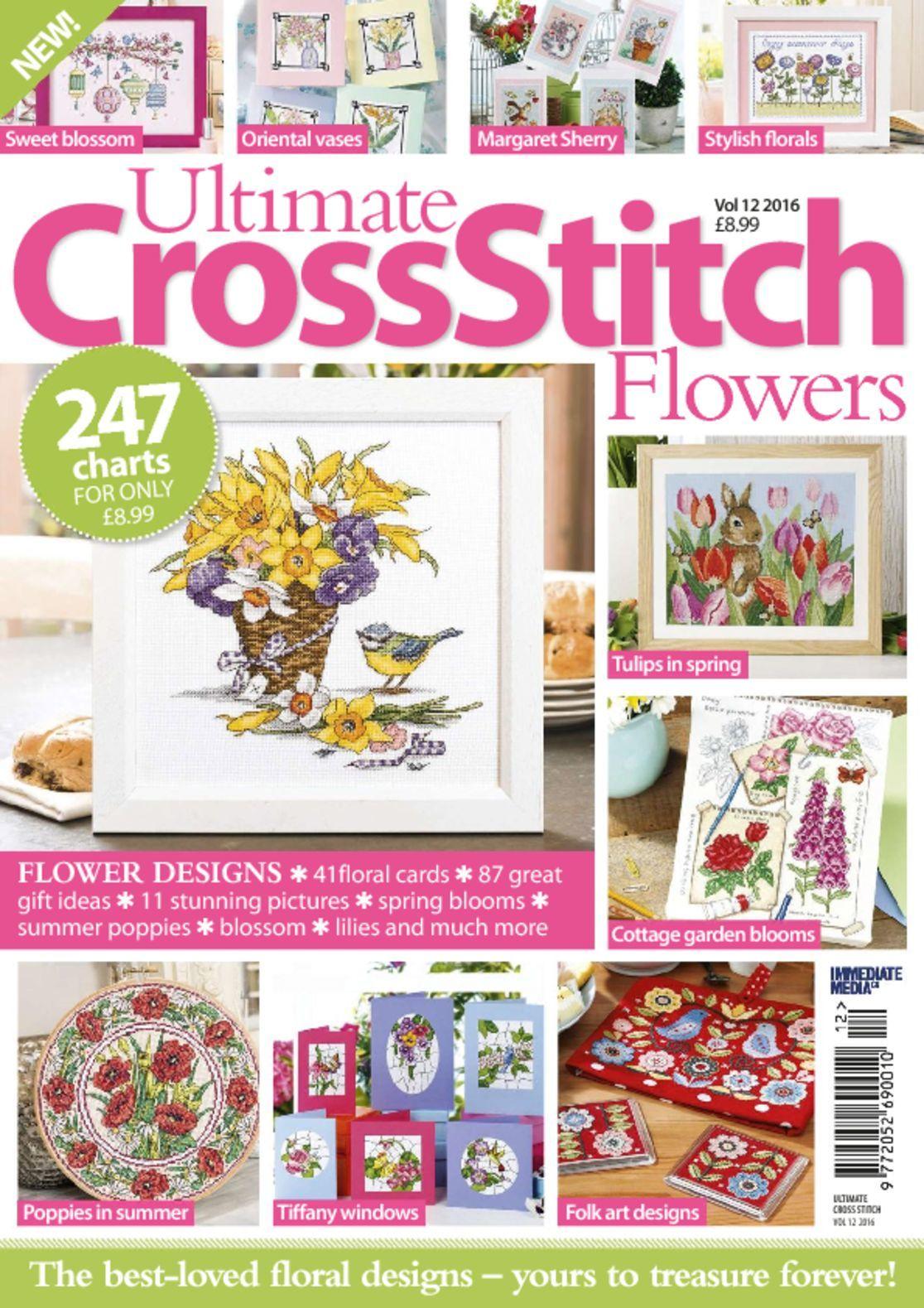 Ultimate Cross Stitch Flowers Digital