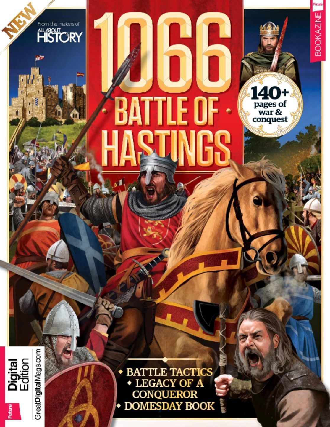 All About History 1066 The Battle Of Hastings Digital