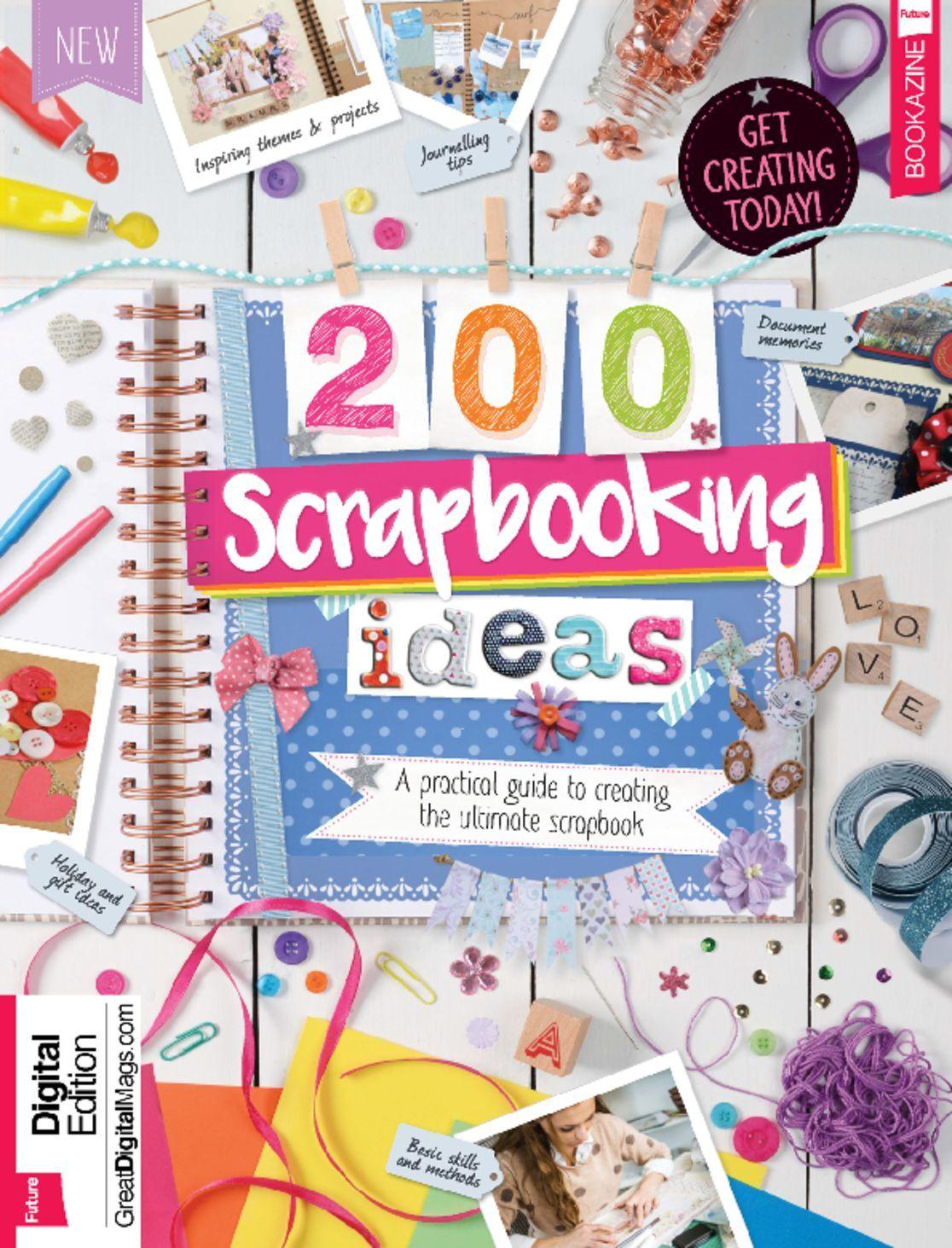 200 Scrapbooking Ideas Digital
