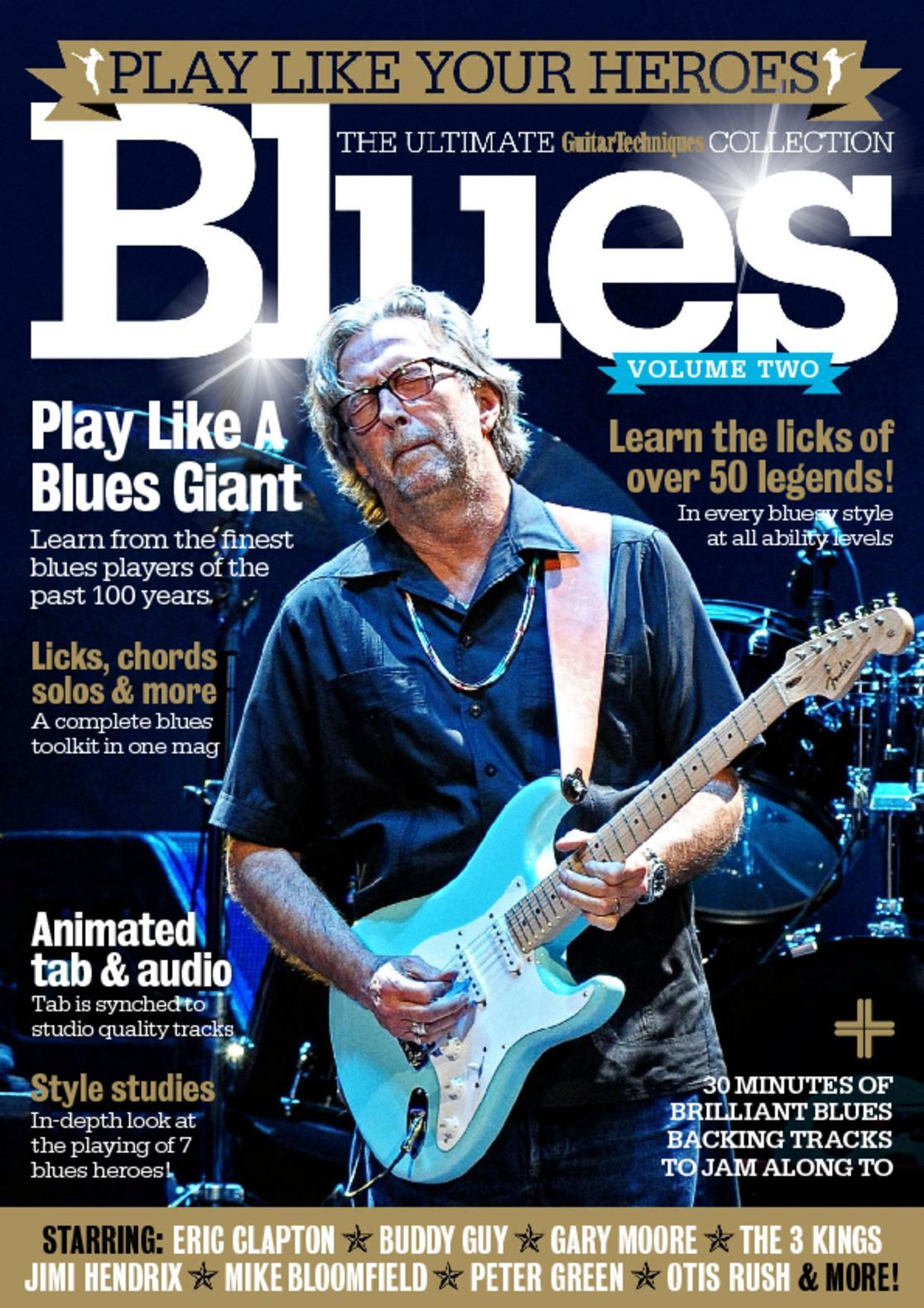 Play Your Card Right On Pinterest: Play Like Your Heroes: Blues Volume Two Magazine (Digital