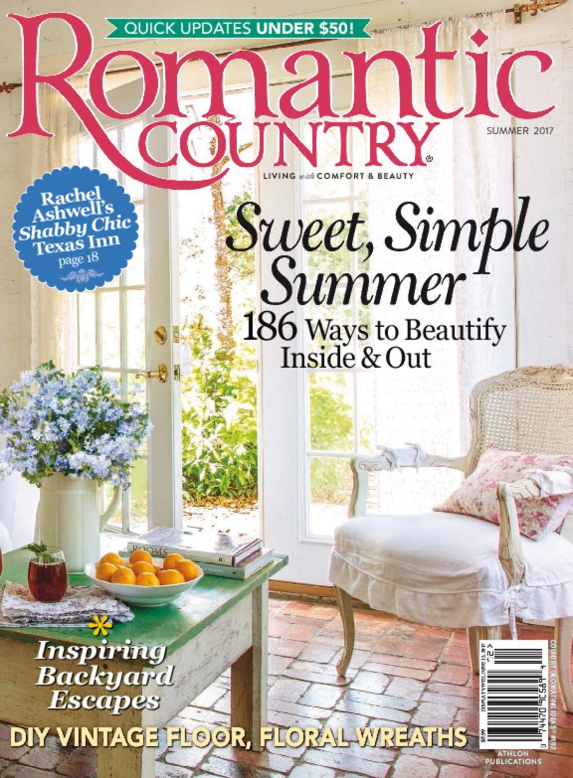 Romantic Country Magazine (Digital) - DiscountMags.com