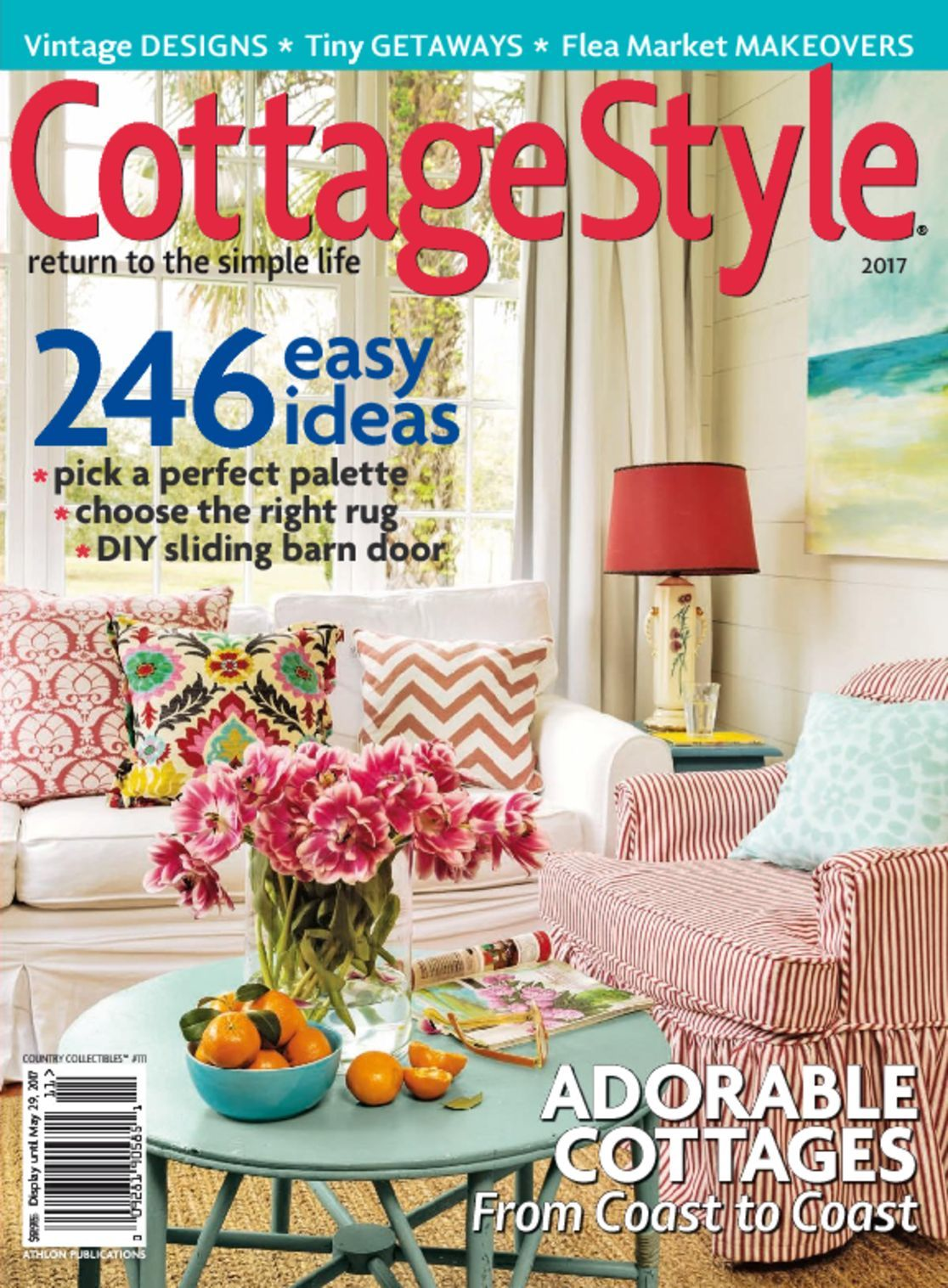 Country collectibles cottage style magazine digital for Country cottage magazine