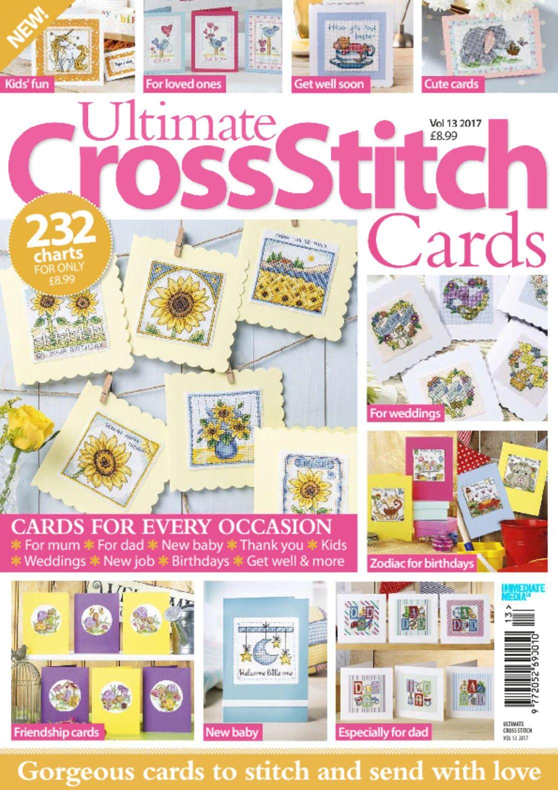 Ultimate Cross Stitch Cards Digital