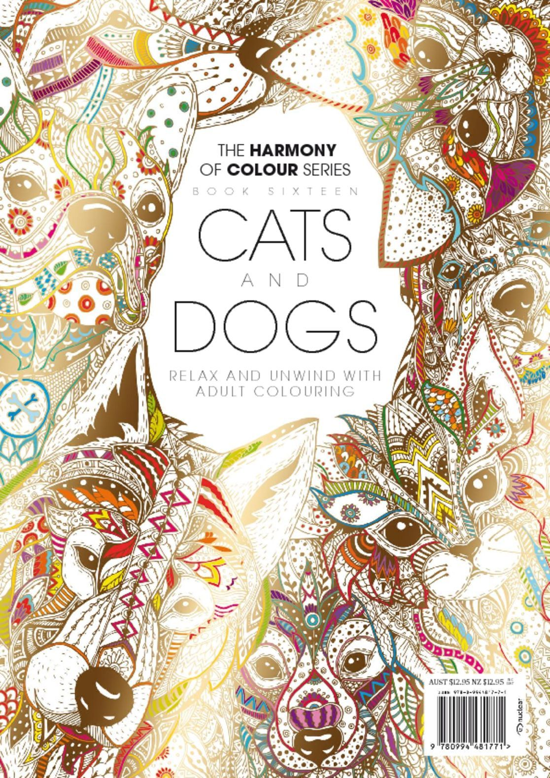Colouring Book Cats and Dogs Digital