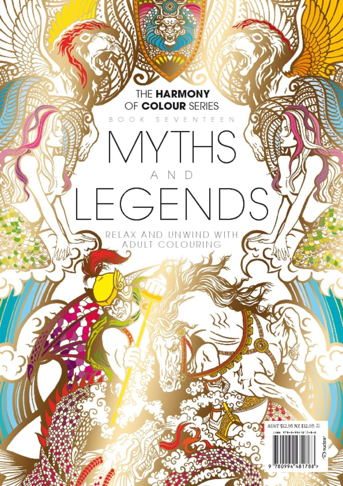 Colouring Book Myths and Legends
