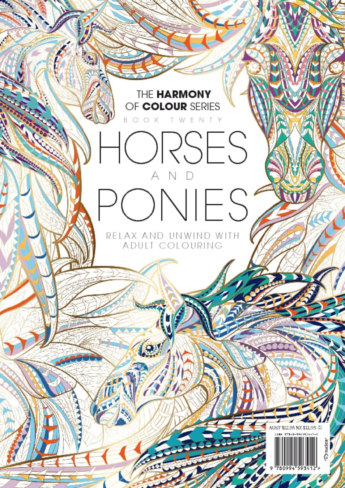 Colouring Book Horses and Ponies Digital