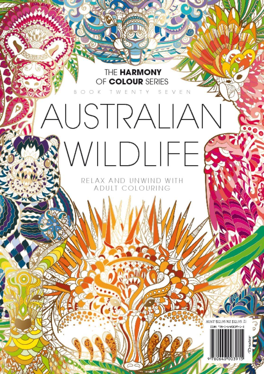 Colouring Book Australian Wildlife Digital